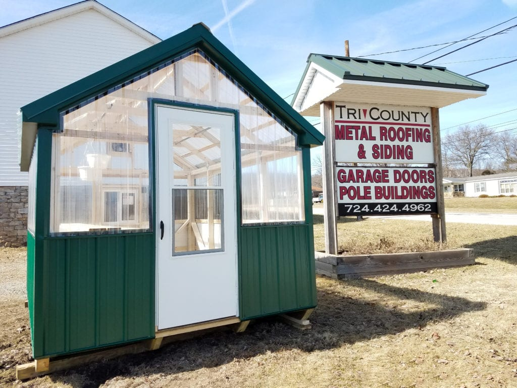 Greenhouses Amp Pole Building Packages Tri County Home